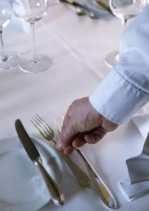 Foto Eindecken Tisch