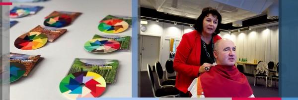 Farb- und Stilberatung für Blinde