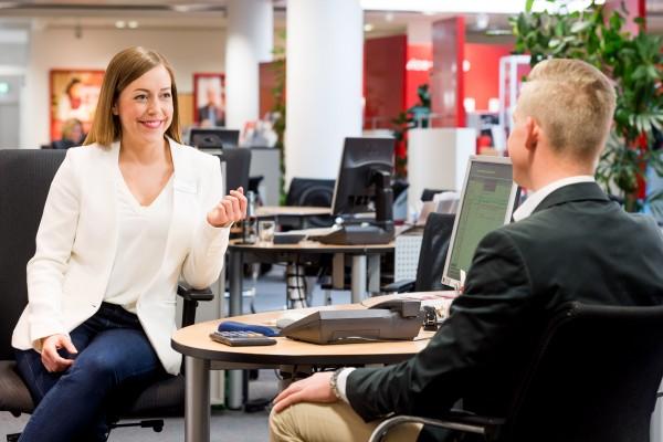 Business-Dresscode Sparkasse