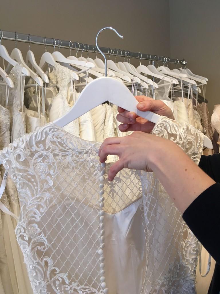 Foto eines Leih-Brautkleides
